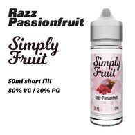 Razz Passionfruit - Simply Fruit e-liquids - 50ml