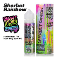 Sherbet Rainbow - Double Drip e-liquids - 50ml