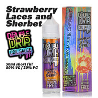 Strawberry Laces and Sherbet - Double Drip e-liquids - 50ml