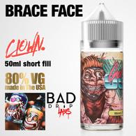 Brace Face Clown e-liquid by Bad Drip Labs - 80% VG - 50ml