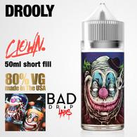 Drooly Clown e-liquid by Bad Drip Labs - 80% VG - 50ml