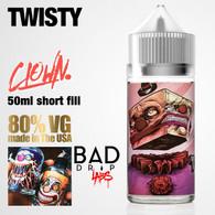Twisty Clown e-liquid by Bad Drip Labs - 80% VG - 50ml