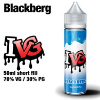 Blackberg by I VG e-liquids - 50ml