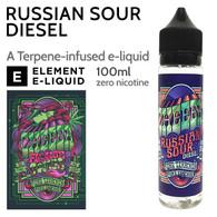 Russian Sour Diesel - Cheeba by Element e-liquid - 70% VG - 100ml
