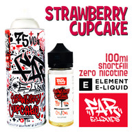 Strawberry Cupcake - Far e-liquids by ELEMENT - 100ml