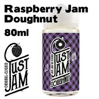 Raspberry Jam Doughnut - Just Jam e-liquid - 80% VG - 80ml