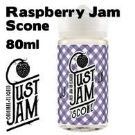 Raspberry Jam Scone - Just Jam e-liquid - 80% VG - 80ml