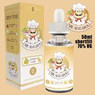 Lemon Cake - Mr Macaron e-liquid - 70% VG - 50ml