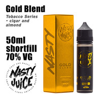 Gold Blend Tobacco - Nasty e-liquid - 70% VG - 50ml