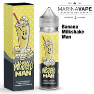 Banana Milkshakeman e-liquid - Max VG - 50ml