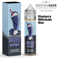 Blueberry Milkshakeman e-liquid - Max VG - 50ml