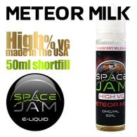 Meteor Milk - by Space Jam e-liquid - high VG - 50ml
