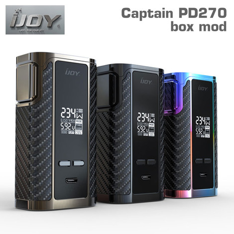 iJoy Captain PD270 box mod