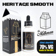 Smooth by The Milkman Heritage – 70% VG – 50ml