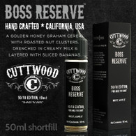 Boss Reserve e-liquid – Cuttwood Vapor – 70% VG – 50ml
