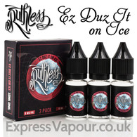 EZ DUZ IT ON ICE - Ruthless premium e-liquid - 90%VG