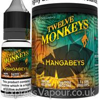 MANGABEYS - Twelve Monkeys e-liquid - 80% VG - 30ml