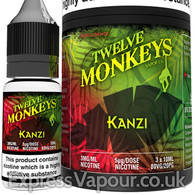 KANZI - Twelve Monkeys e-liquid - 80% VG - 30ml