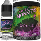 O-RANGZ - Twelve Monkeys e-liquid - 80% VG - 30ml