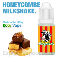 Honeycombe Milkshake - by ECO VAPE e-liquid - 70% VG - 30ml
