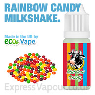 Rainbow Candy Milkshake - by ECO VAPE e-liquid - 70% VG - 30ml
