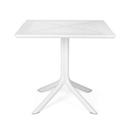 Nardi Clip 80x80cm Deck Table  - White