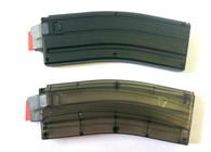 Black Dog Machine Gen4 X-Form Magazine- 25 Round with Stainless Steel Feed Lips for AR22