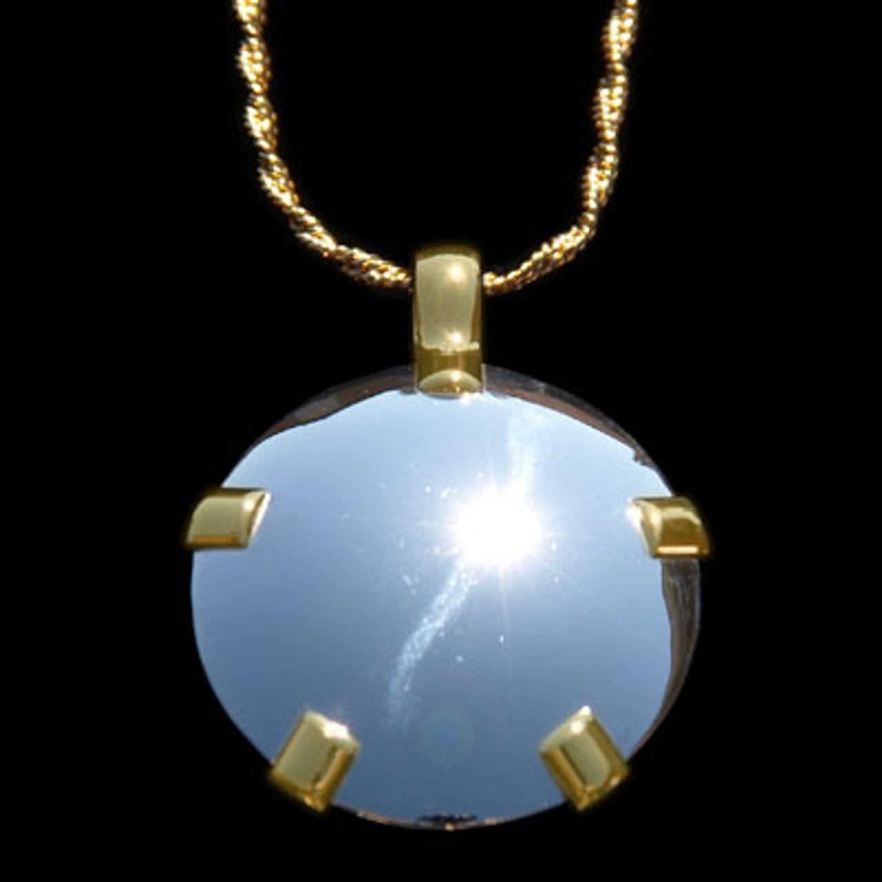 LEVEL 3 BioElectric Shield Sterling Silver w/14K Gold Tabs Shield - Polished