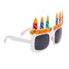 """Party Glasses """"Happy Birthday!"""" White"""