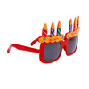 "Party Glasses ""Happy Birthday!"" Red"
