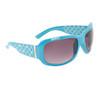 Rhinestone Sunglasses DI118 Blue Frame