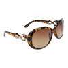 Fashion Sunglasses 809 Tortoise Frame w/Gold Bow