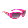 Women's Designer Sunglasses Hot Pink Frame