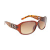 Leopard Print DE™ Sunglasses DE5007 Brown Frame