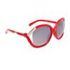 Vintage Sunglasses 6036 Red Frame