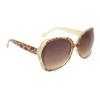 Animal Print Rhinestone Sunglasses DI6000 Giraffe Print Frame