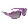 Rhinestone Sunglasses DE5009 Purple Frame