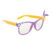 California Classics with Bunny Ears & Bows 6007 Orange & Purple Frame