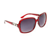 Women's High Fashion Sunglasses 6031 Red Frame