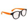 Clear Lens Sunglasses Wholesale 8202 Orange/Black