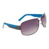 Aviator Sunglasses by the Dozen DE5024 Blue & Gun Metal