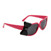 Polk-A-Dot California Classics Sunglasses 8010 Dark Pink w/Black Bow