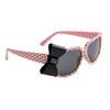 Polk-A-Dot California Classics Sunglasses 8010 Light Pink w/Black Bow
