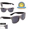 Checkered California Classics Sunglasses Wholesale - Style # 8193