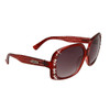 Diamond™ Eyewear Rhinestone Sunglasses by the Dozen - Style # DI137 Maroon