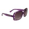 Diamond™ Eyewear Rhinestone Sunglasses by the Dozen - Style # DI137 Purple