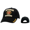 Wholesale Baseball Cap C131 (1 pc.) Retired Marine Black