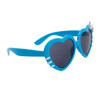 Wholesale Heart Sunglasses - Style # 8067 Blue