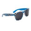Wholesale Zebra Print California Classics - Style # 8013 Blue