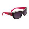 DE5072 - Fashion Sunglasses Black/Magenta